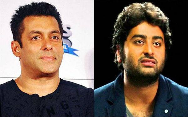 Arijit Singh and Salman Khan